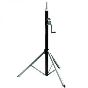BASIC 2800 2.8m 80kg Wind Up Stand with Adaptor